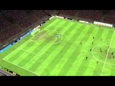 1.FC Nürnberg vs 1.FC Kaiserslautern - Drmic Goal 10 minutes
