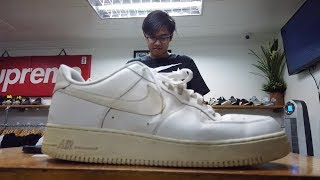 UKAY-UKAY AIR FORCE 1 FAKE vs REAL UPDATE: WHAT DO WE DO WITH IT?