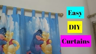How to make curtains | Easy DIY