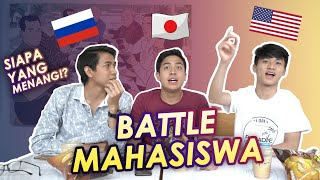 BATTLE MAHASISWA RANTAU: JEROME VS LEO VS TURAH!