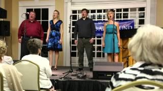 "Bon Operatit! Sings ""You'll Never Walk Alone"" at Thursdays at Twilight Garden Concert Series"