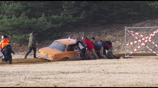 20. Int. ADMV-Lausitz-Rallye 2017   SMALL CRASH, NEARLY CRASHS, MISTAKES & ACTION
