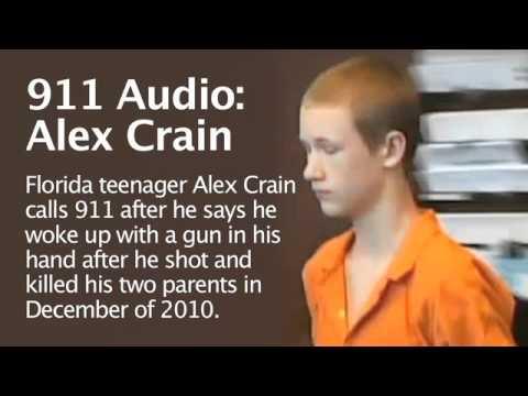 911 Audio: Fla. teen kills parents. Florida teenager Alex Crain calls 911 ...