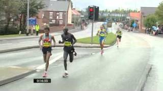Haile Gebrselassie at the Great North Run 2010
