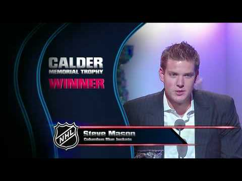 Steve Mason wins the Calder Trophy Video