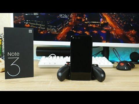 Xiaomi Mi Note 3 - стильный и сбалансированный смартфон!