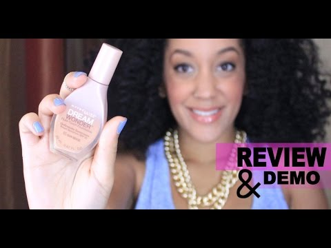 REVIEW & DEMO | Maybelline Dream Wonder Fluid Touch