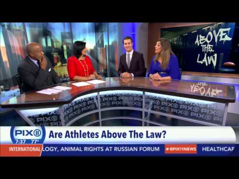 WPIX 11 News: Are Athletes Above the Law?