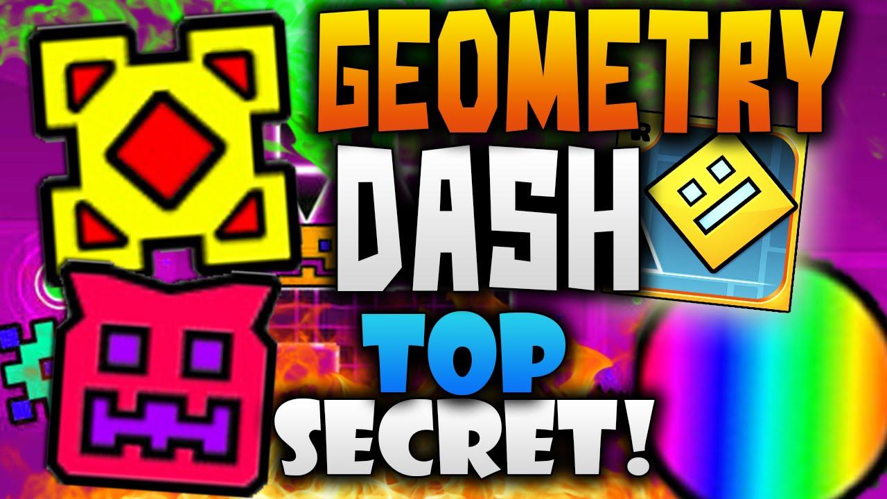 """Geometry Dash! """"Los 2 Iconos Súper Secretos & El Misterio Del Arco ..."""