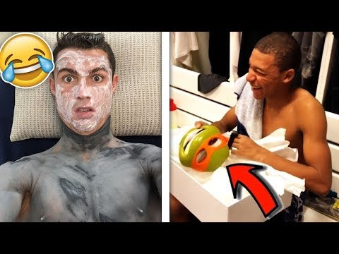 Famous Football Players Getting PRANKED! (ft. Mbappe,Ronaldo,Sane)