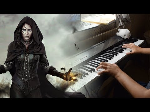 The Witcher 3 - Priscilla's Song/Wolven Storm (Piano Cover)