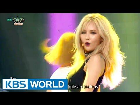 HyunA - Roll Deep (Feat. Jung IllHoon of BTOB)   현아 - 잘나가서 그래 [Music Bank COMEBACK / 2015.08.21]