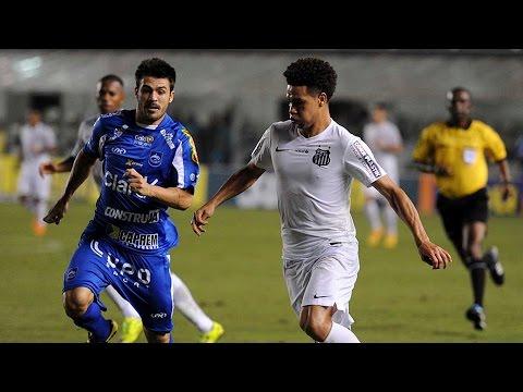 Santos 2 x 0 Rio Claro | MELHORES MOMENTOS | Paulistão 2015 (08/04/15)
