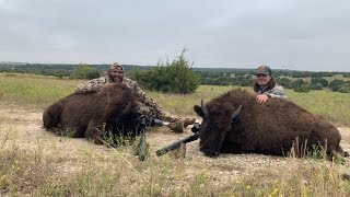 Texas BUFFALO Hunt! {Catch Clean Cook} FT. CRISPY