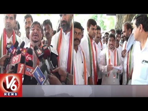 Ex MP Ponnam Prabhakar Criticizes TRS Party Over Mid Manair Inland Expats Problems | V6 News