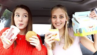 BURGER KING MUKBANG IN AUTO 🍟🍔 ✰ All About Leonie