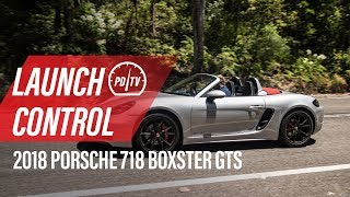 2018 Porsche 718 Boxster GTS: How to use Launch Control (POV)