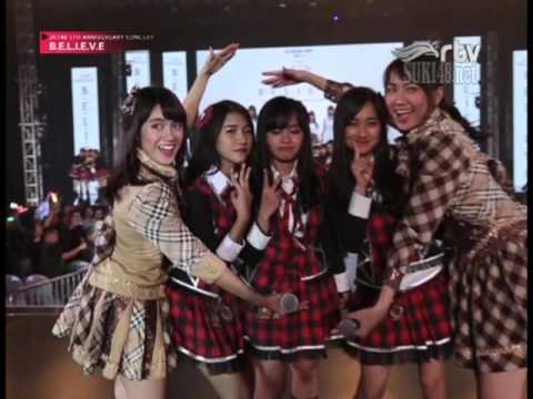 [1080p] JKT48 Mannequin Challenge @ JKT48 5th Anniversary Concert BELIEVE - RTV