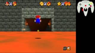 SM64 Princess Peach's Secret Slide speedrun tutorial