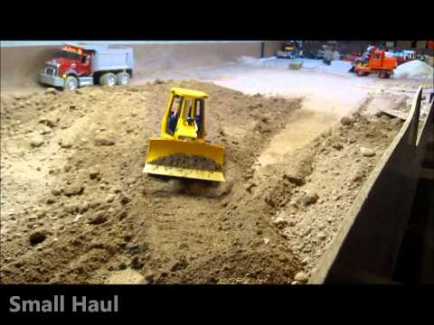 Bruder CAT D5 Bulldozer RC conversion Working. Price and options...