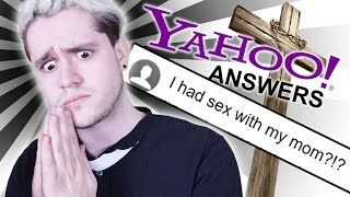 Cleansing Yahoo Answers of Sin