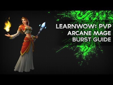 Arcane Mage PvP Burst - Michael 'Cartoonz' Hogman - LearnWoW: PvP Episode 14 - Razer Academy