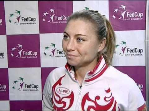 Fed Cup Interview: Vera Zvonareva