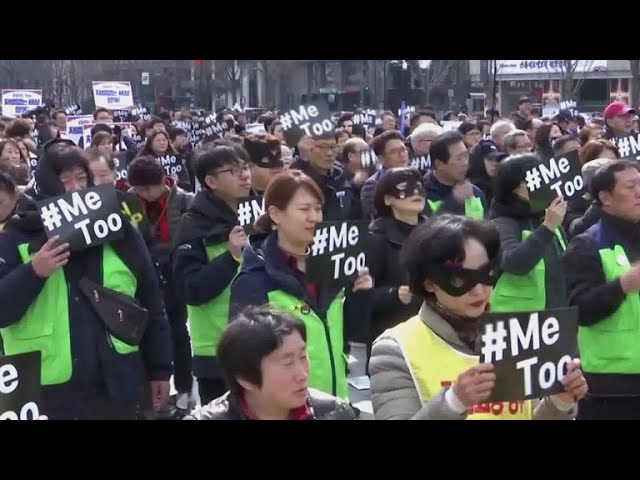 International Women's Day protests amplify feminism in Asia