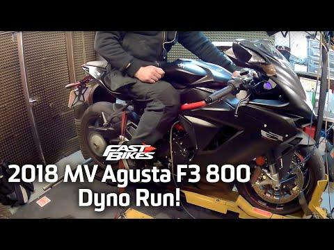 2018 MV Agusta F3 800 - Dyno Run!