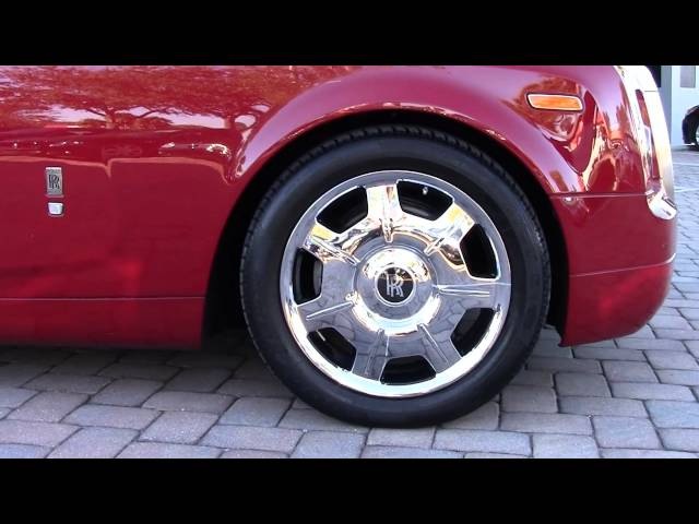 2008 Rolls Royce Phantom Drophead Coupe Convertible For Sale