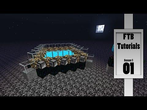 FTB Tutorial / Guide - Infinite Glowstone Generator