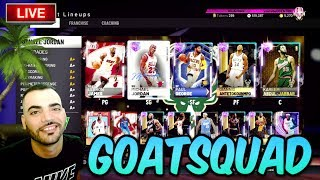 GOATSQUAD IN NBA 2K19 MYTEAM! Almost at 19,000 SUBSCRIBERS! SUB UP *CALI TRIP TOMORROW!!!*