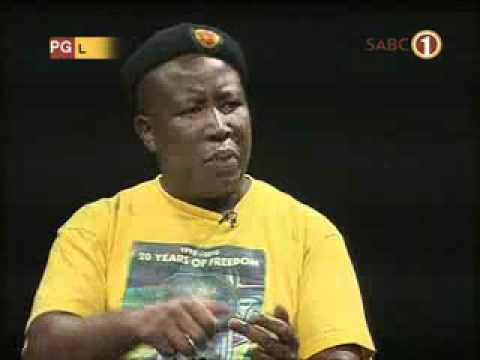 Julius Malema interview on SABC1