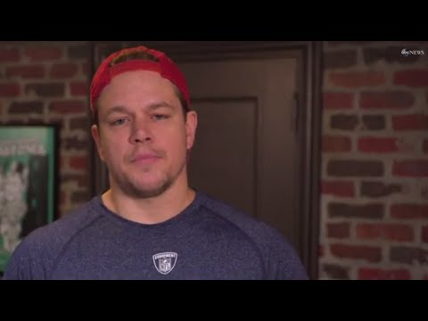 "Ben Affleck and Matt Damon:  ""I'm the locker room guy"" in Deflate Gate"