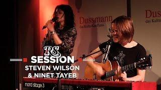 "Steven Wilson & Ninet Tayeb - ""People Who Eat Darkness""など2曲のライブ・セッション映像を公開 thm Music info Clip"