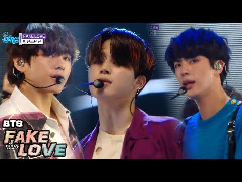 [HOT] BTS  - FAKE LOVE , 방탄소년단 - FAKE LOVE Show Music core 20180602