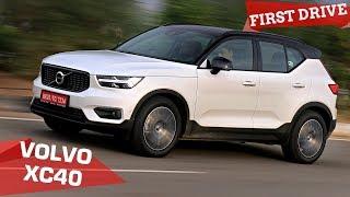 2018 Volvo XC40 India Review | Small SUV, Big Surprise | Zigwheels.com