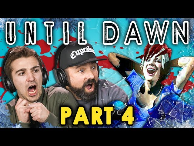 HORROR HOUSE! | UNTIL DAWN - Part 4 (React: Let's Plays)