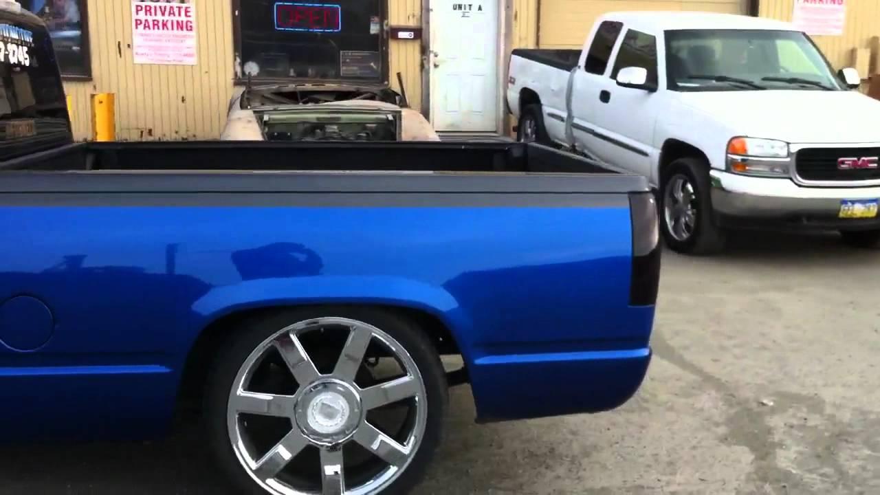 1994 Chevy Step Side C1500 Silverado Pickup  YouTube