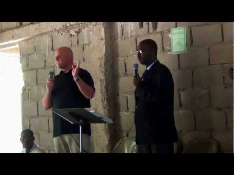 Sermon at Marmelade Christian Church Haiti Mission Trip