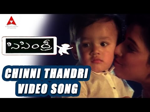 Sisindri Movie || Chinni Thandri Video Song || Nagarjuna, Tabu video