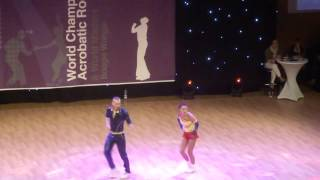 Darina Kozlova & Alexey Kondrashin - Weltmeisterschaft 2015