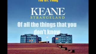 Watch Keane You Are Young video