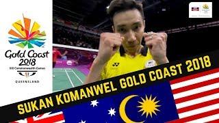 Lee Chong Wei | Set 3 | Akhir | Badminton Perseorangan Lelaki | Sukan Komanwel 2018 | Astro Arena