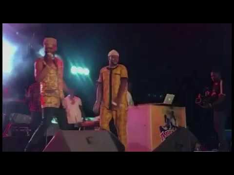 Watch King Sunny Ade, Pasuma, Adekunle Gold And Odunlade Adekola's Dance Competition