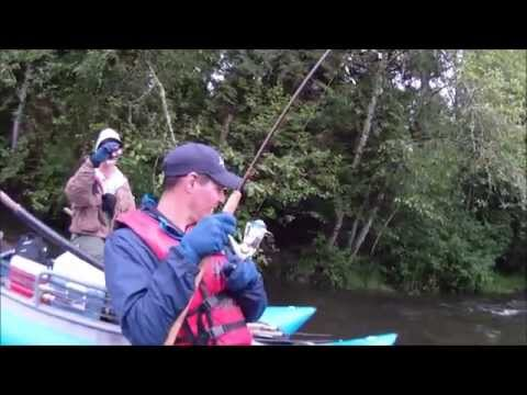 Sandy River fishing trip with Ed Fast