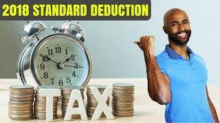 2018 New Standard Deduction