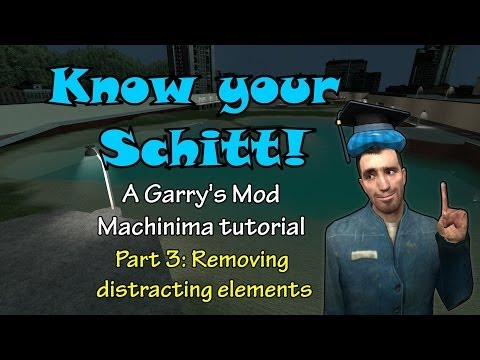 Know Your Schitt! Part 3: Removing Distracting Elements