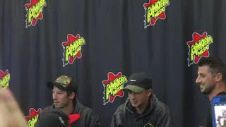 Twenty One Pilots greet fans at Amoeba Hollywood store for their new album Trench release signing