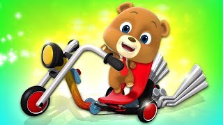 Alex's Bike | Cartoon Videos For Kids & Children By Loco Nuts